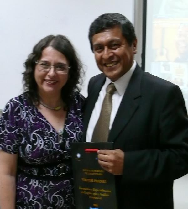 Con Sandra Barbero Directora de DAU Escuela de Vida