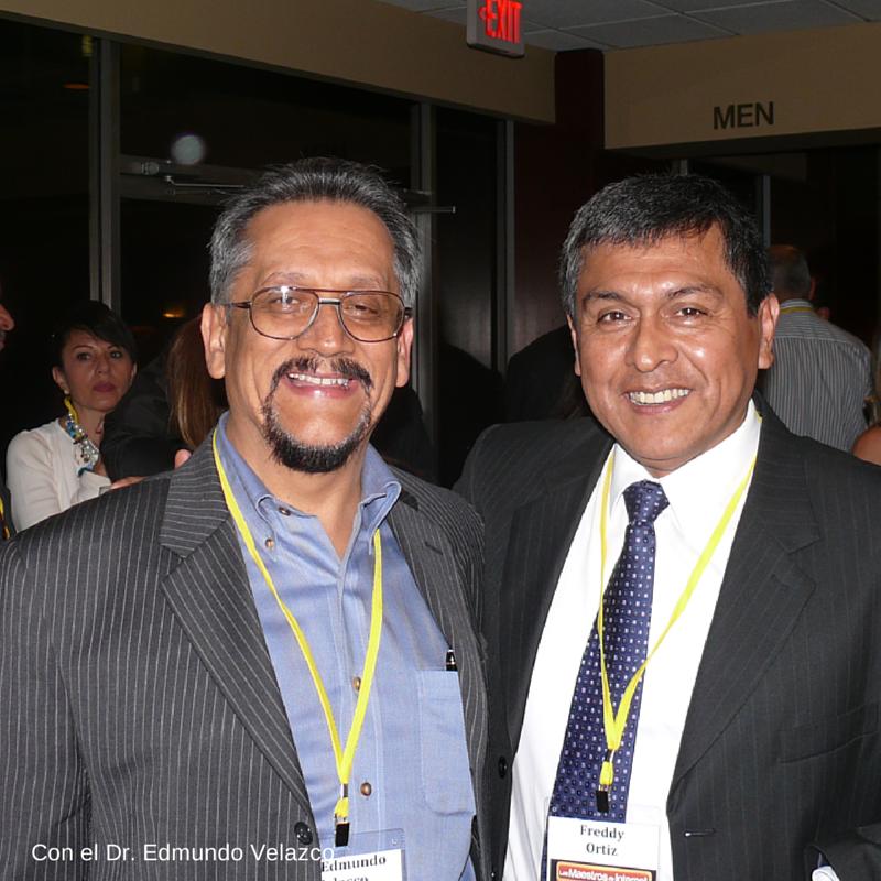 Con el Dr Edmundo Velazco
