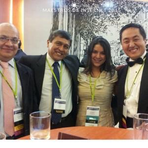 Freddy Ortiz en Los Maestros de Internet 2015